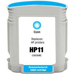 HP No 11XL C4836AE CYAN ΚΑΙΝΟΥΡΙΟ ΣΥΜΒΑΤΟ (28ml)-0