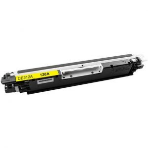 HP CE312A 126A YELLOW ΚΑΙΝΟΥΡΙΟ ΣΥΜΒΑΤΟ (1000 σελίδες) -0