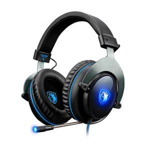 SADES R12 PRO Gaming Headset USB 7.1CH με 50mm πανίσχυρα ακουστικά -0