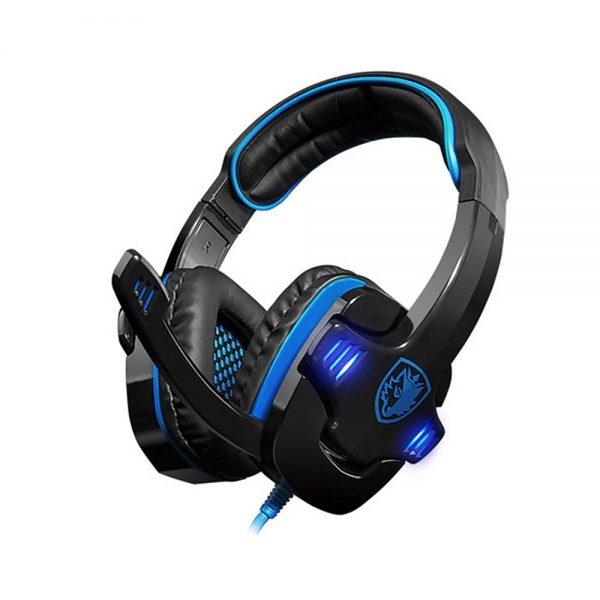 SADES SA708 Gaming Headset με 40mm πανίσχυρα ακουστικά -0