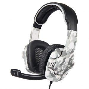 SADES SA708 Gaming Headset με 40mm πανίσχυρα ακουστικά Army Grey-0