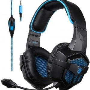 SADES SA807 Gaming Headset με 50mm πανίσχυρα ακουστικά-0
