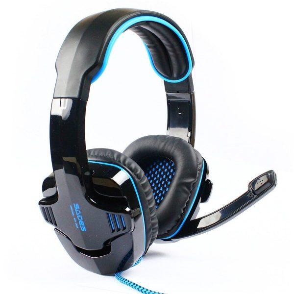 SADES SA901 Gaming Headset USB 7.1CH με 40mm πανίσχυρα ακουστικά-0